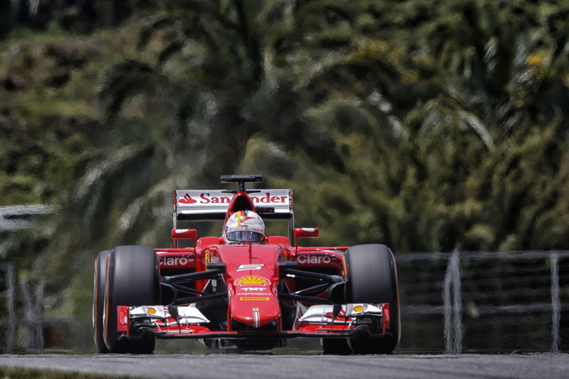 Így hajtott Vettel a Q3-ban a Ferrarival: SF15-T