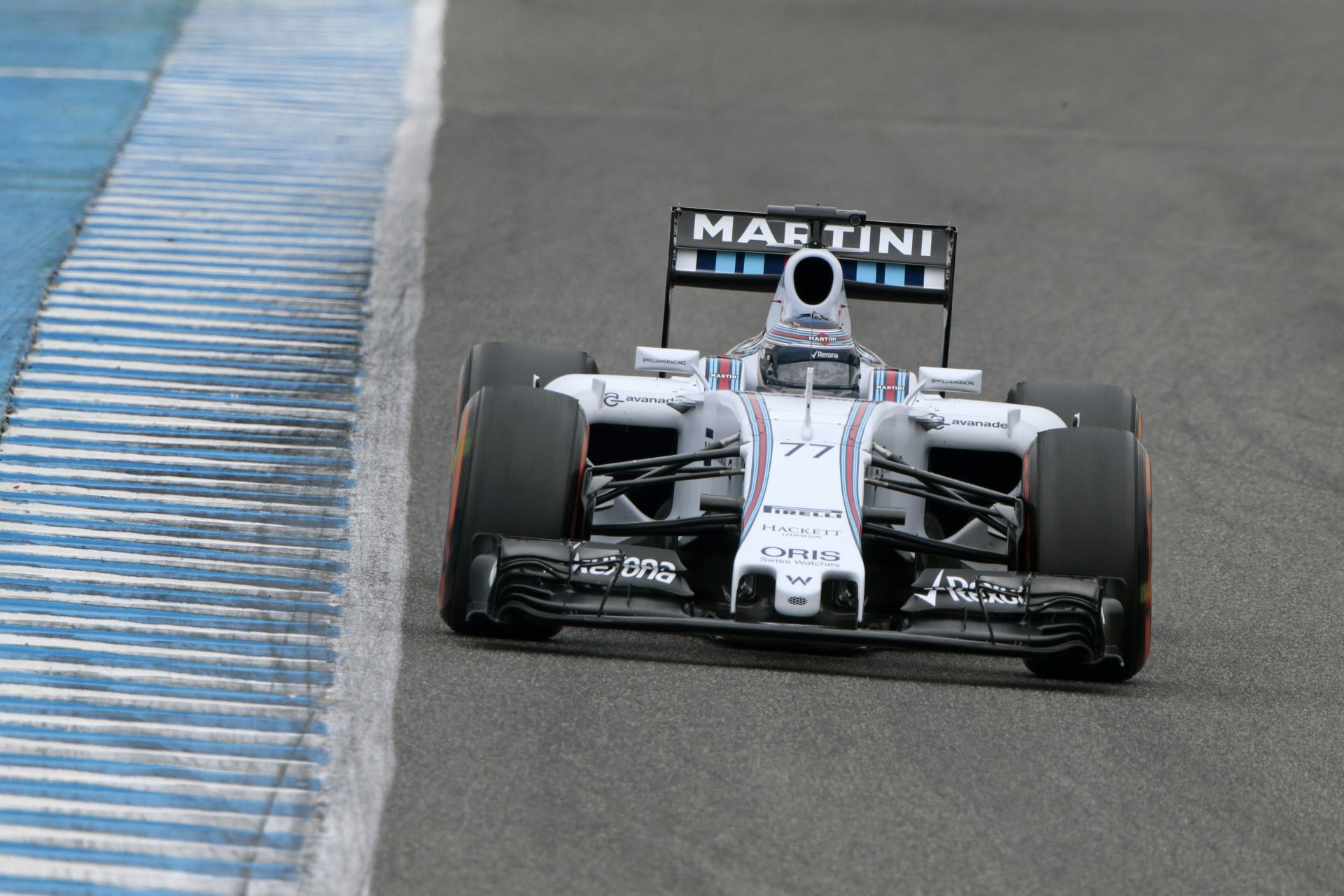F1 2015: Így teper a Williams idei versenygépe Jerezben