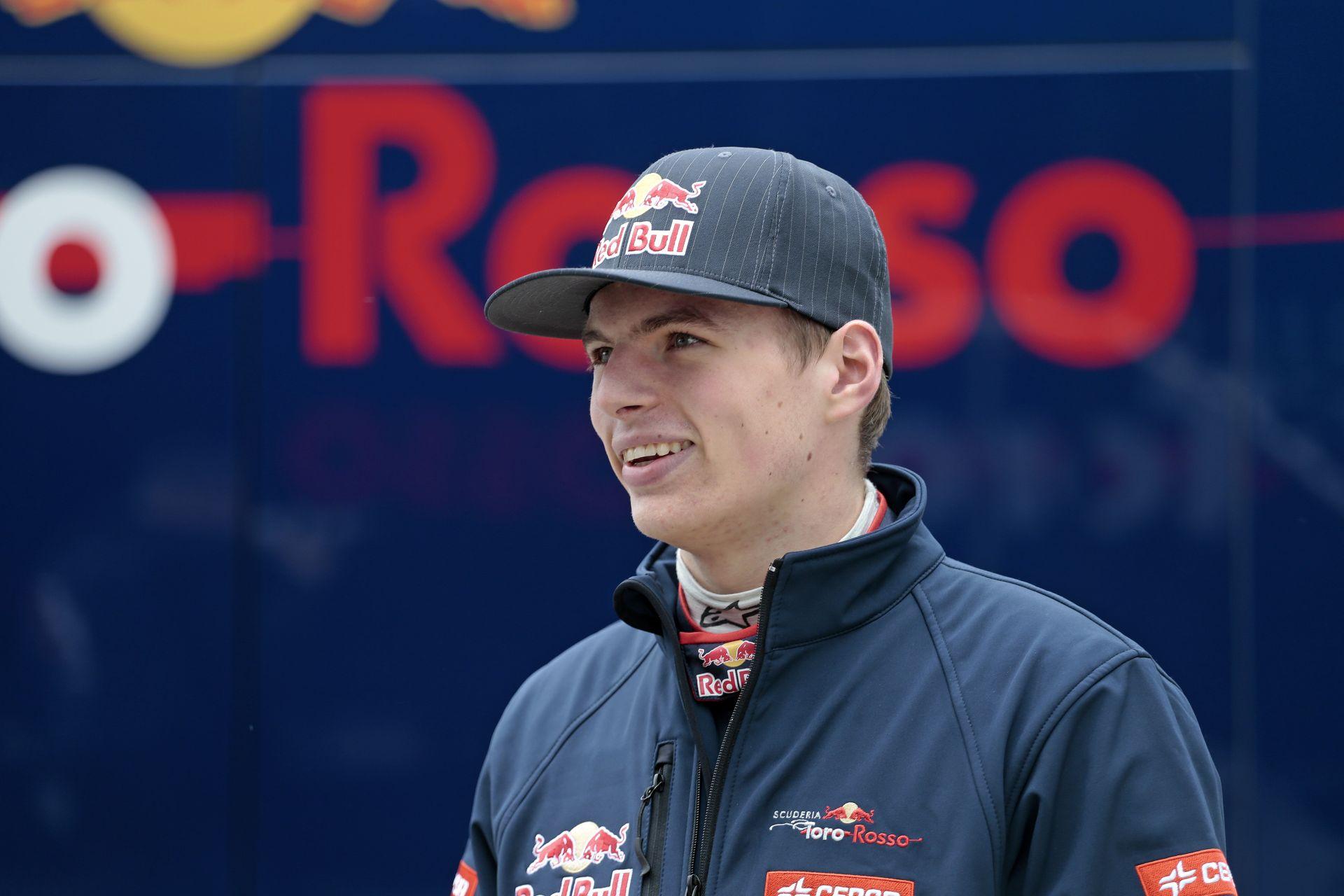 Verstappen, a 17 éves F1-es pilóta
