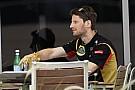 Grosjean: Most, hogy Raikkönen már nem a Lotus versenyzője, sör sincs a hűtőben