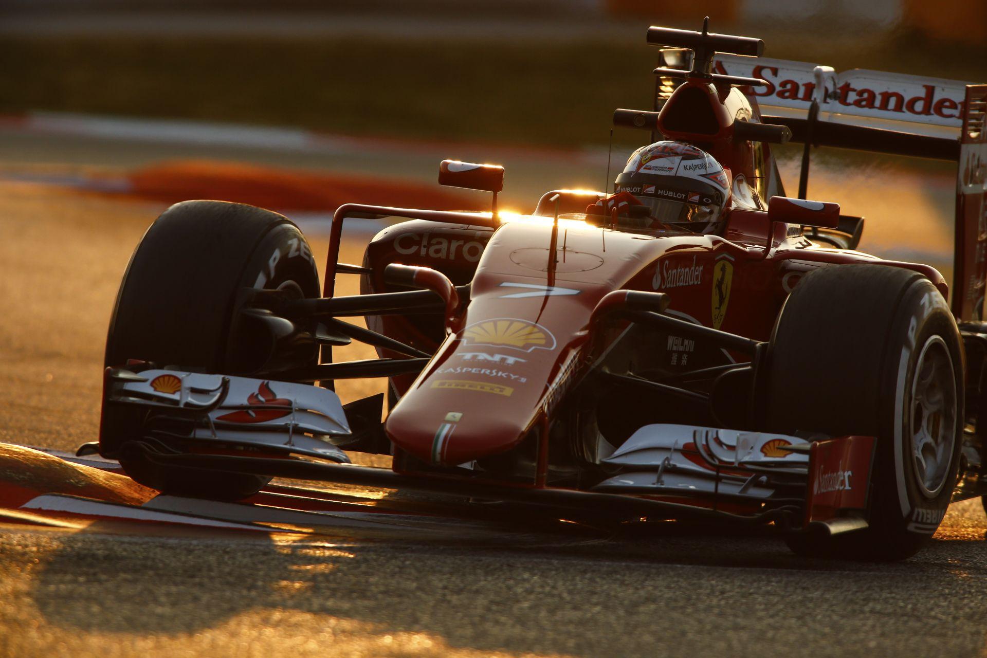 Az utolsó téli teszt következik a Forma-1-ben: Raikkonen, Hamilton, Button és a 2015-ös Force India is a pályán