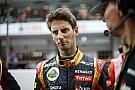 Grosjean izgatott a Lotus nagy előrelépése miatt