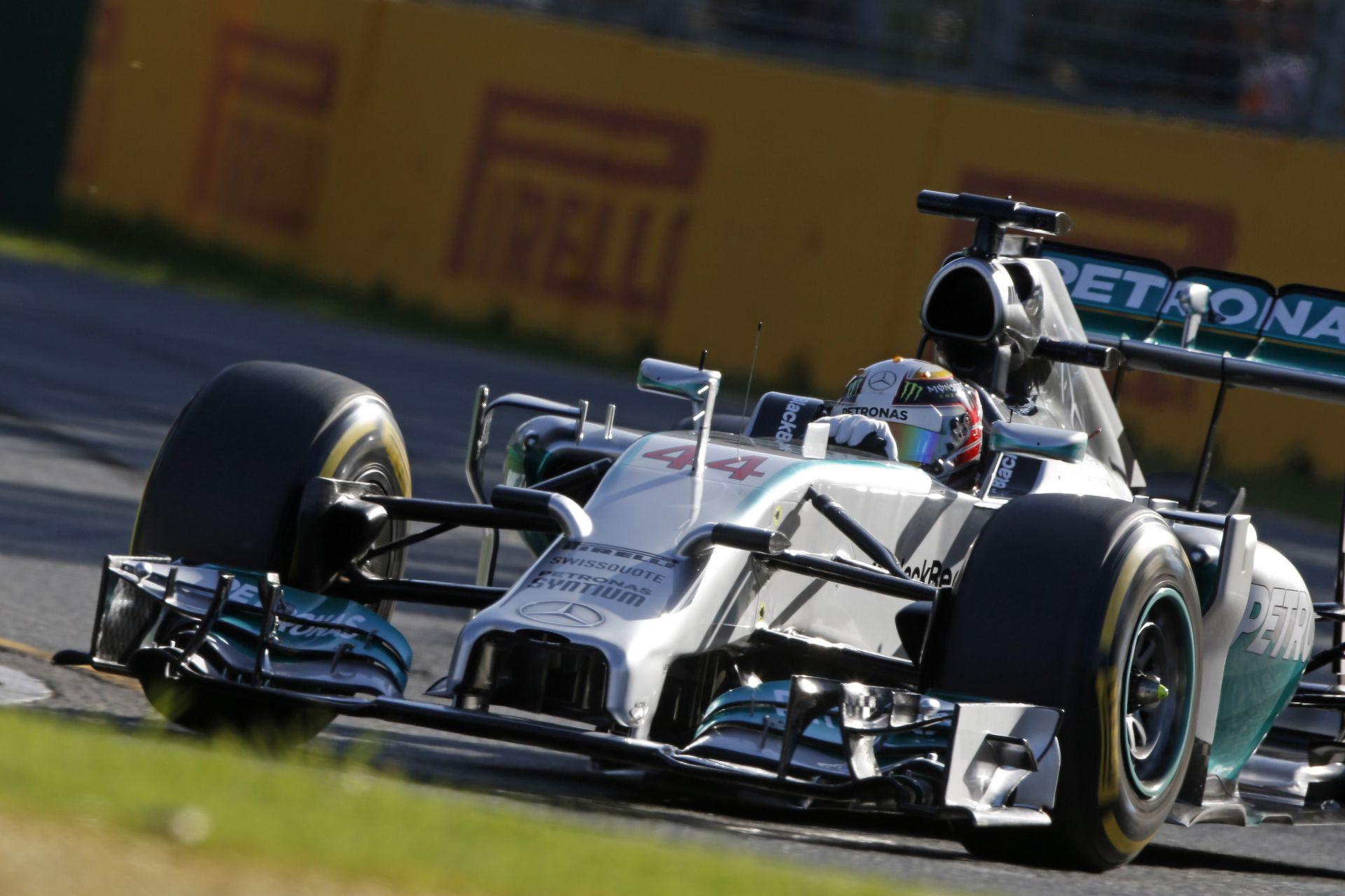 Hamilton és a 2014-es Mercedes: Onboard felvétel az Ausztrál Nagydíjról
