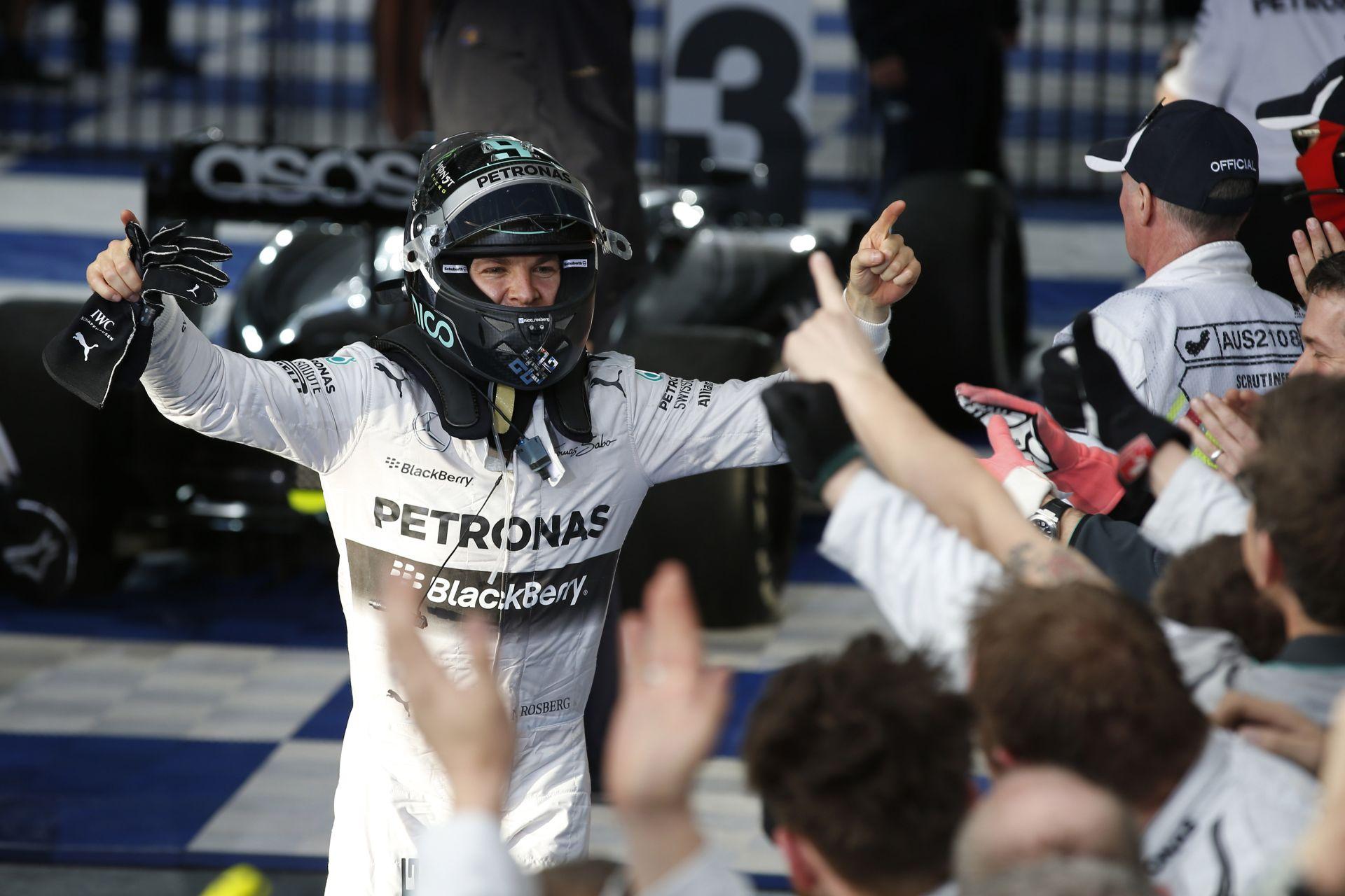 Rosberg folytatná a jó sorozatot a Mercedesszel
