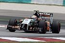 Pérez egy métert sem tudott megtenni a Force Indiával a versenyen