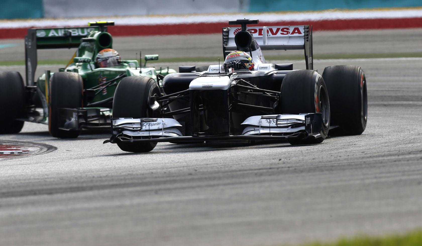 Maldonado barátságos srác, és majd a Lotus kezelésbe veszi egy kicsit