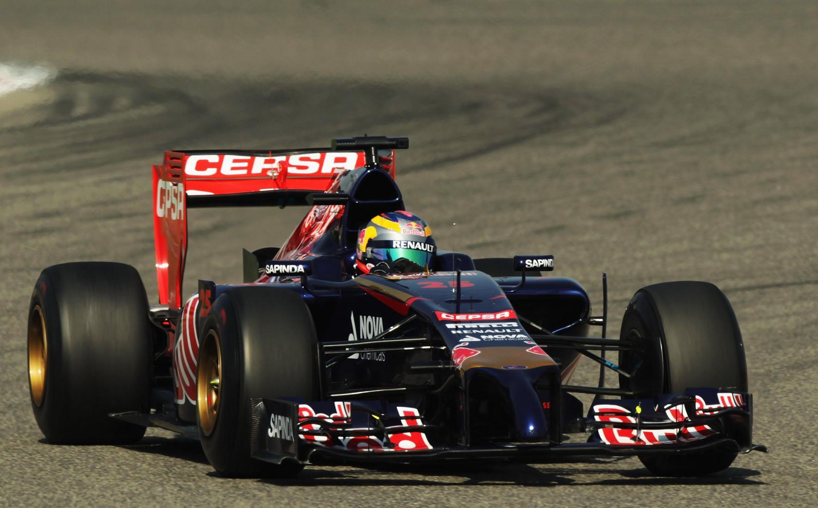 Toro Rosso: 61 kört Bahreinben és más semmi