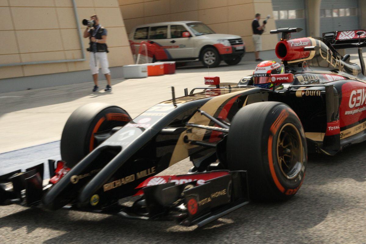 """Beégett"" a Lotus, Maldonado nem boldog"