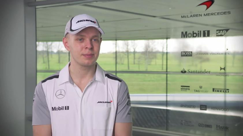 Magnussen: Nagy móka lesz vezetni ezt a McLarent