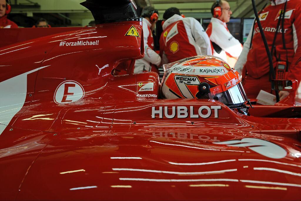 Räikkönen: a hátam rendben van, ez pedig egy normális első nap volt