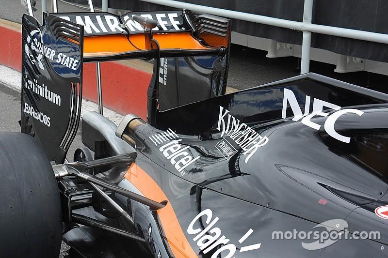 Технический брифинг: заднее крыло Force India VJM09