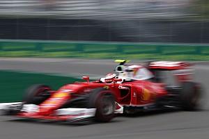 F1 Entrevista Raikkonen quedó a disgusto con su actuación del viernes en Montreal