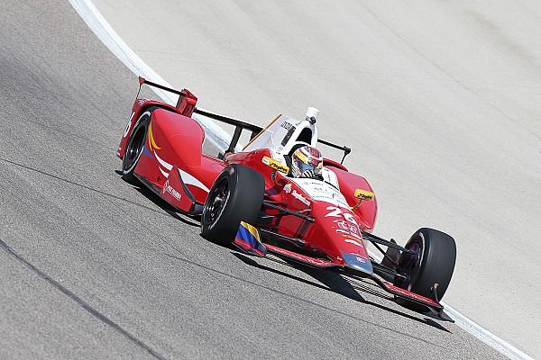 Carlos Muñoz pakt eerste pole in de IndyCar
