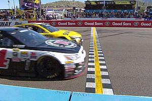 NASCAR BRÉKING NASCAR: újabb egészen elképesztő befutó Amerikában