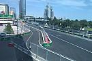 El ingreso a pits preocupa a los pilotos en Bakú