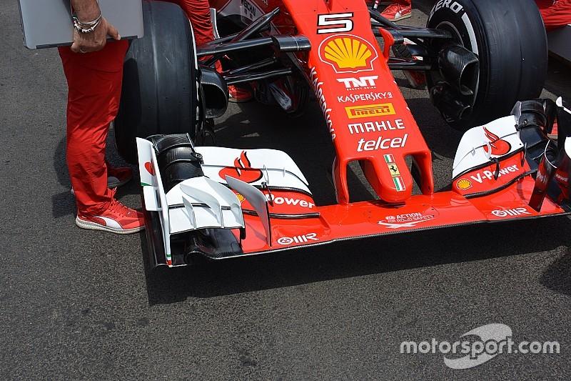 Breve análisis técnico: Ala delantera del Ferrari SF-16H