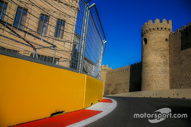 Problemen met kerbs in Baku, GP2-kwalificatie uitgesteld
