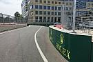 La FIA cambia los pianos y la entrada a boxes de Bakú