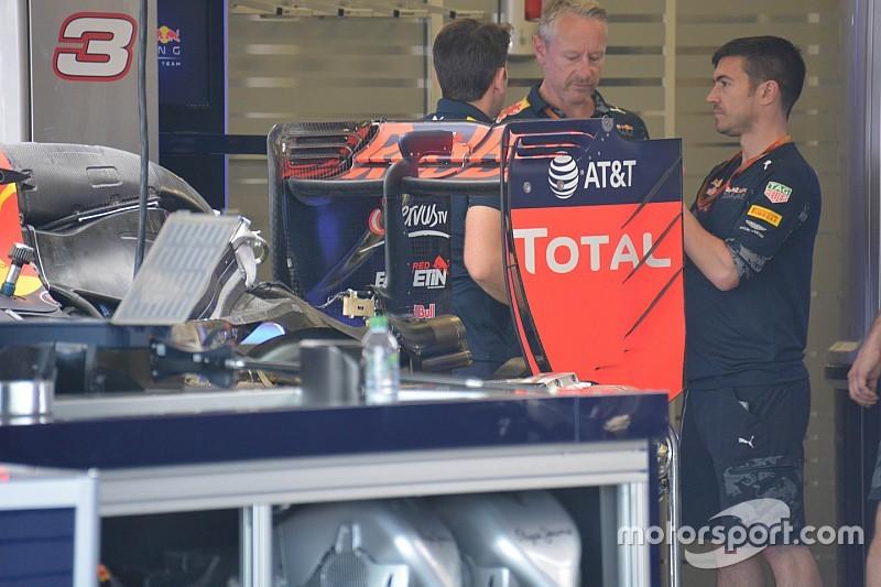 Breve análisis técnico: alerón trasero Red Bull