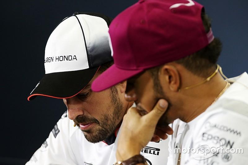 Alonso y Hamilton, unidos contra el reglamento