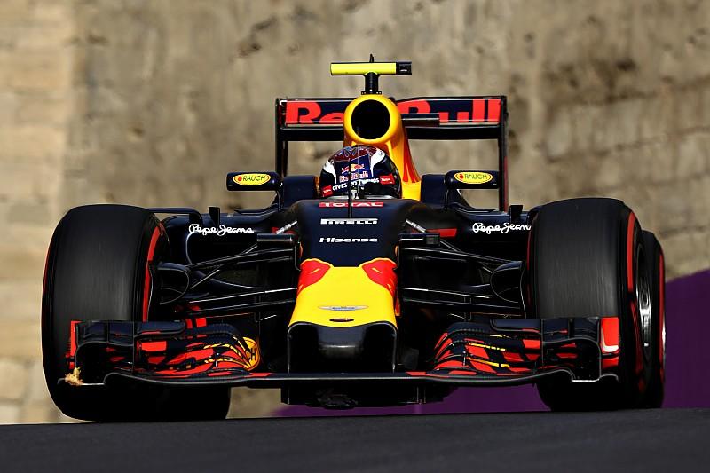 Мала притискна сила призвела до проблем з гумою у Red Bull