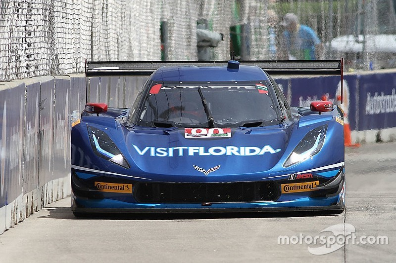 Goossens met Daytona Prototype in actie op Goodwood Festival of Speed