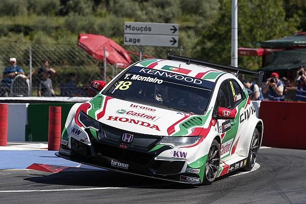Vila Real WTCC: Monteiro kendi evinde ana yarışı kazandı