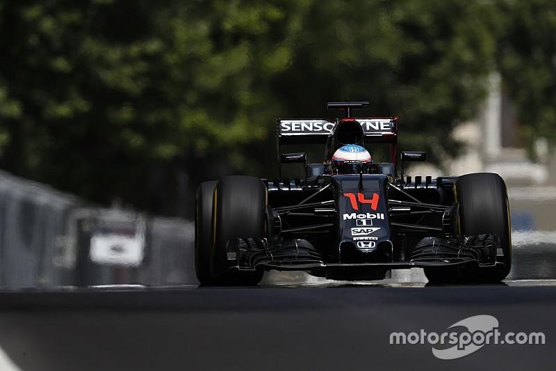 Alonso verwacht betere prestaties van McLaren in Oostenrijk