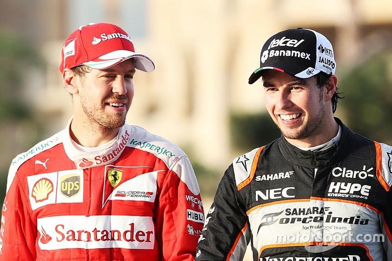 """Perez """"no puede descartar"""" ir a Ferrari en 2017"""