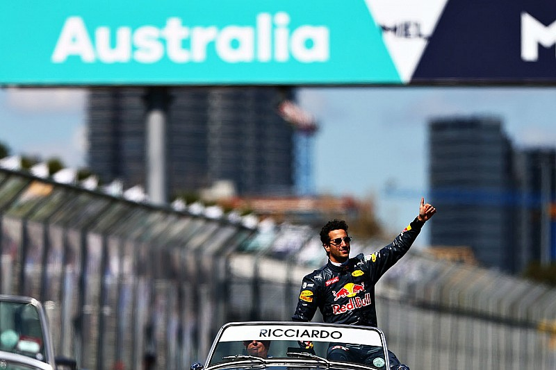 Una tribuna de regalo para Daniel Ricciardo