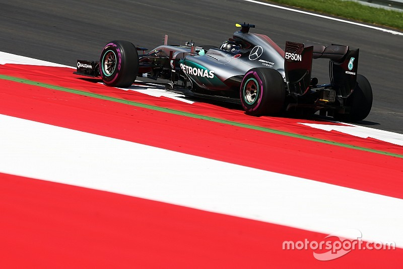 Formel 1 in Spielberg: Nico Rosberg Schnellster im ersten Freien Training