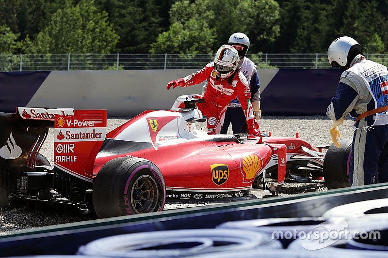 Ferrari: Vettel ha commesso un errore col ripartitore di frenata