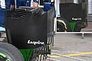 Williams: due soffiaggi in più sulla paratia dell'ala posteriore