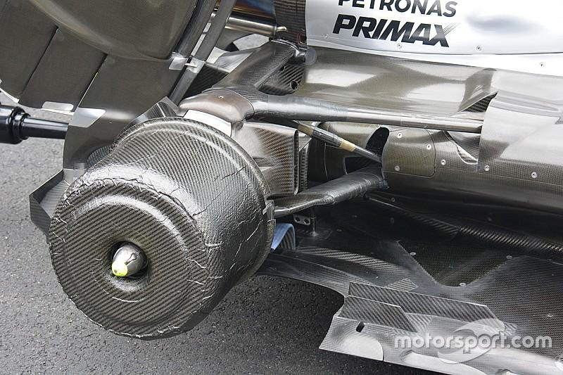 Perché la Mercedes continua a scaldare i freni in griglia di partenza?