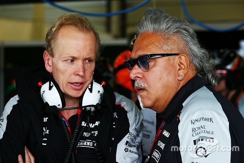 Force India-baas Mallya voor het eerst dit seizoen in F1-paddock