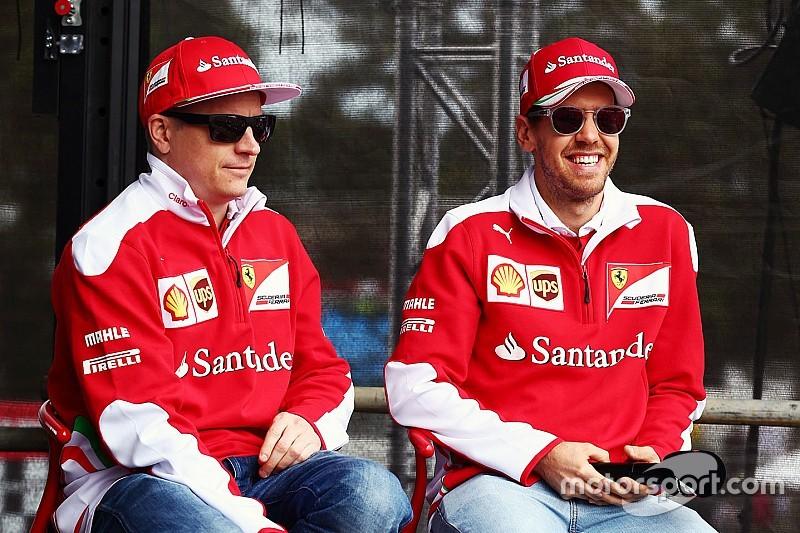 """Vettel: """"Raikkonen behouden is de juiste beslissing"""""""