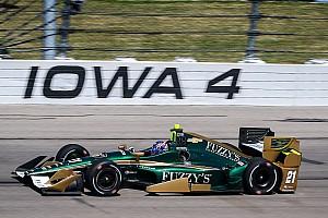 IndyCar Gara Josef Newgarden rientra e domina all'Iowa Speedway