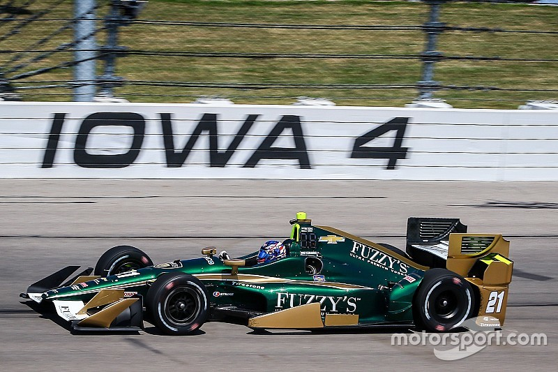 Josef Newgarden rientra e domina all'Iowa Speedway
