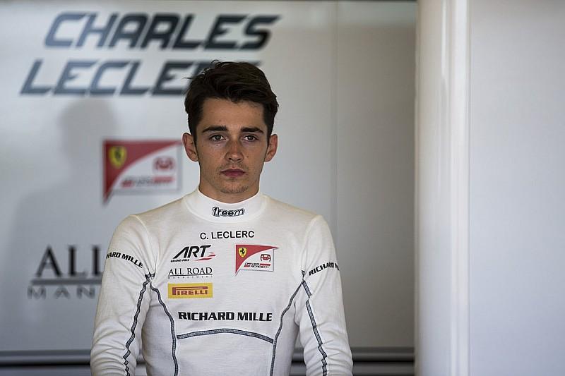 Leclerc echa de menos la ayuda de Bianchi tras su primer test con Ferrari
