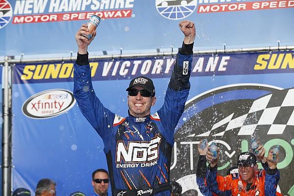 NASCAR Cup Kyle Busch gana  New Hampshire; Suárez es cuarto