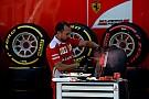 Selección de neumáticos para Alemania, Ferrari de nuevo con los más blandos
