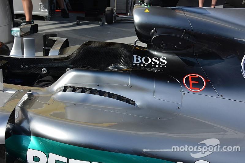 """Mercedes: c'è un """"camino"""" ai lati dell'abitacolo"""