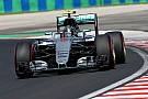 Hungaroring, Libere 2: Rosberg davanti, sbatte Hamilton, Vettel terzo