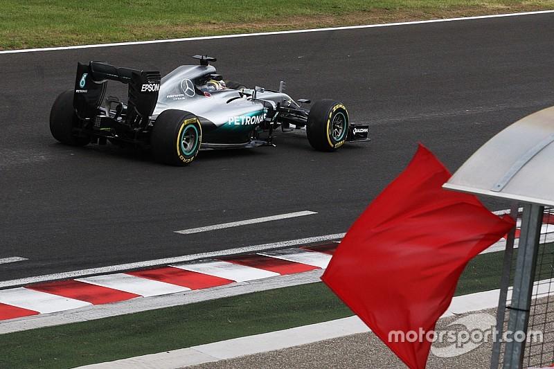 """Hamilton resta calmo: """"Buone sensazioni nei pochi giri fatti"""""""