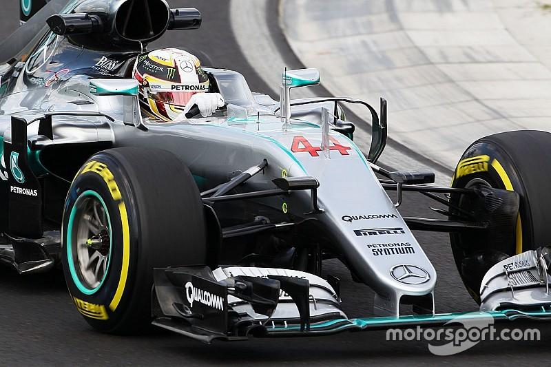 Bei Crash mit 12 g: Rennsitz von Lewis Hamilton gebrochen