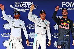 F1 Reporte de calificación Pole para Rosberg en una clasificación eterna