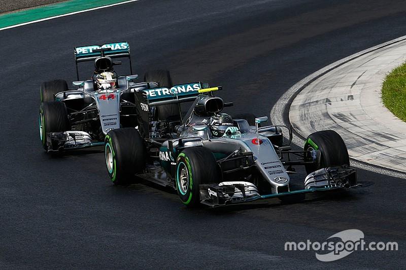 La batalla por el título durará hasta la última carrera, según Wolff