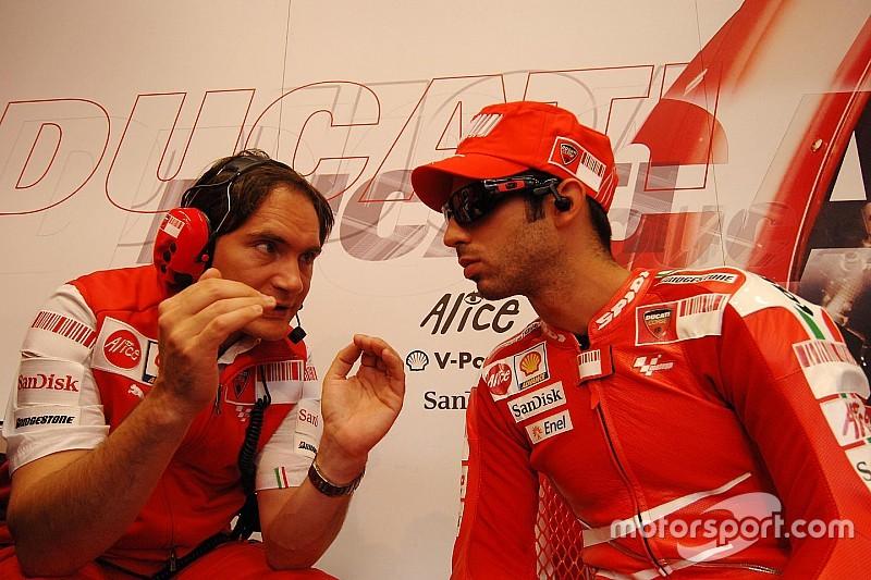 Marco Melandri acompañará a Chaz Davies en Ducati