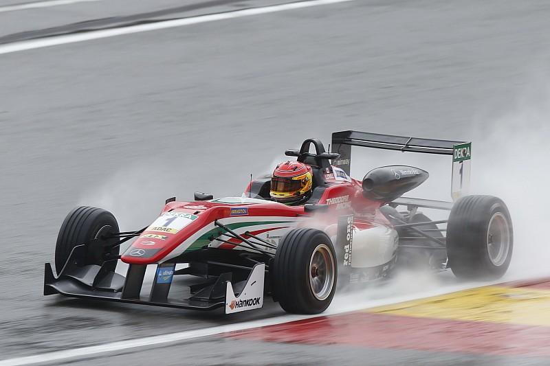 Stroll se llevó la victoria en la carrera 1 de Spa bajo la lluvia