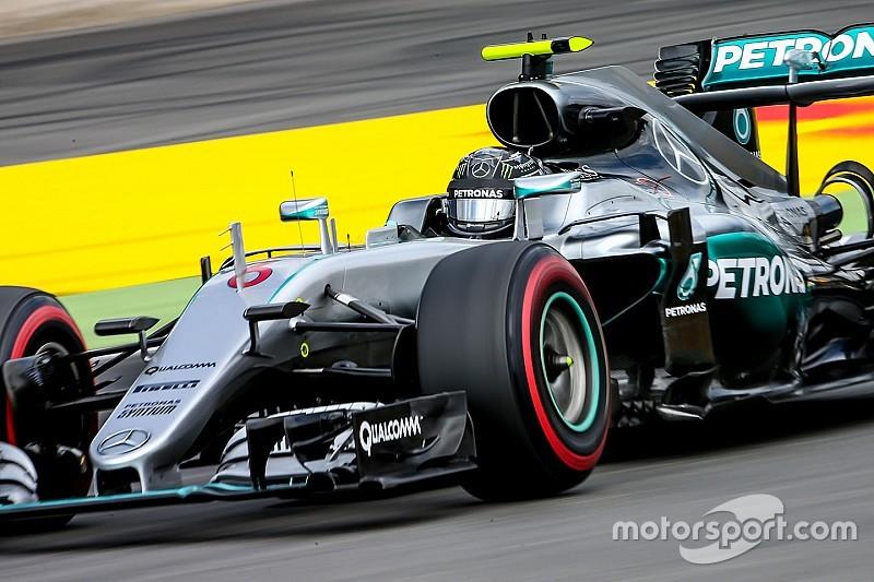Rosberg fue el mejor del viernes
